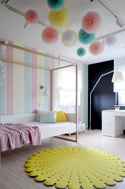 Calido minimalismo - dormitorio infantil2