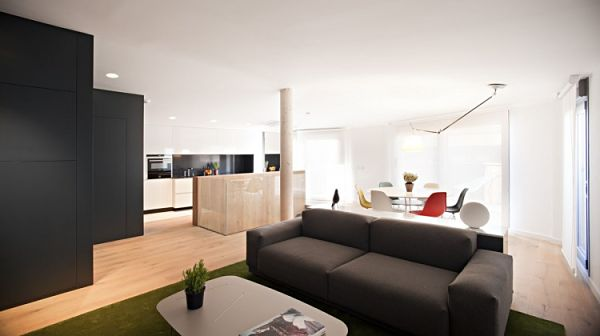 Duplex moderno - planta superior