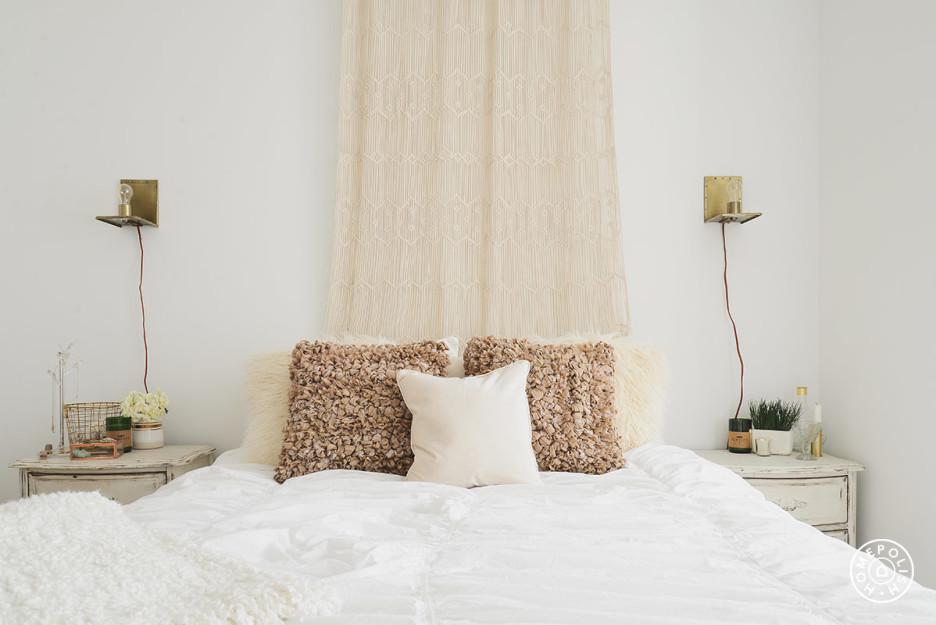 Glam oro, gris y blanco - dormitorio2