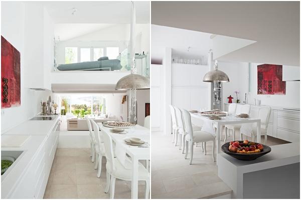 Villa Mandarina - Cocina con comedor