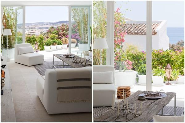 Villa Mandarina - acceso a terraza