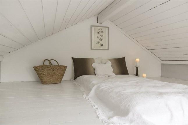 Aire fresco - dormitorio atico