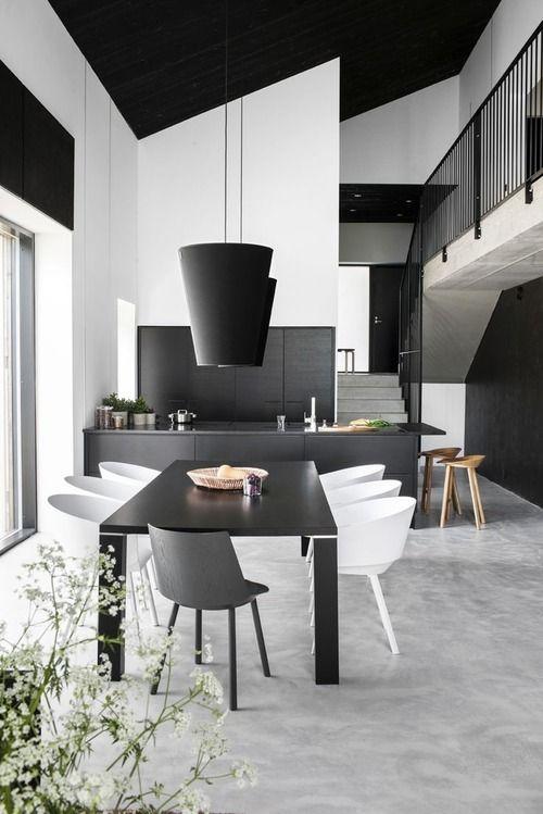 Cocina y comedor de the blueprint effect
