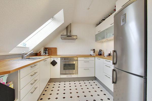 Escandinavo moderno - cocina