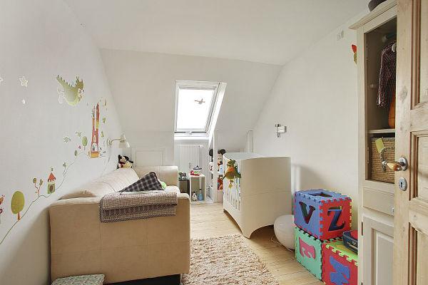 Escandinavo moderno - dormitorio infantil