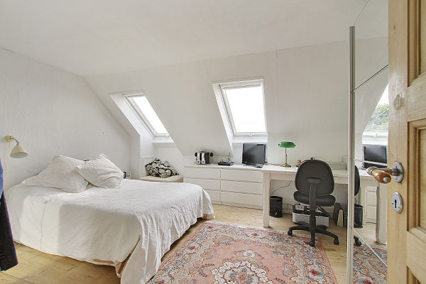 Escandinavo moderno - dormitorio