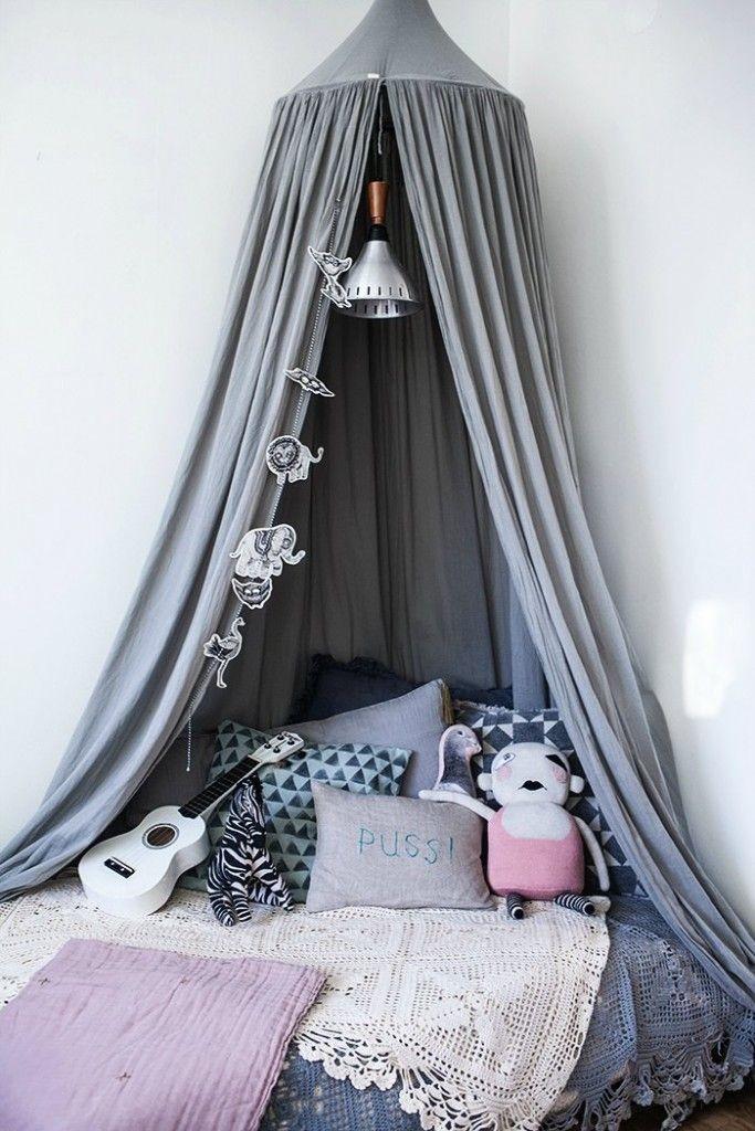 dormitorio bohemio infantil - petitandsmall