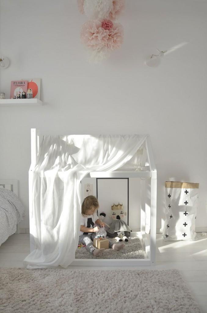 dormitorio con casita - pauletpaula
