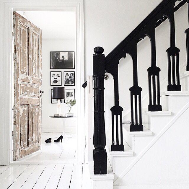 escaleras en ambiente vintage
