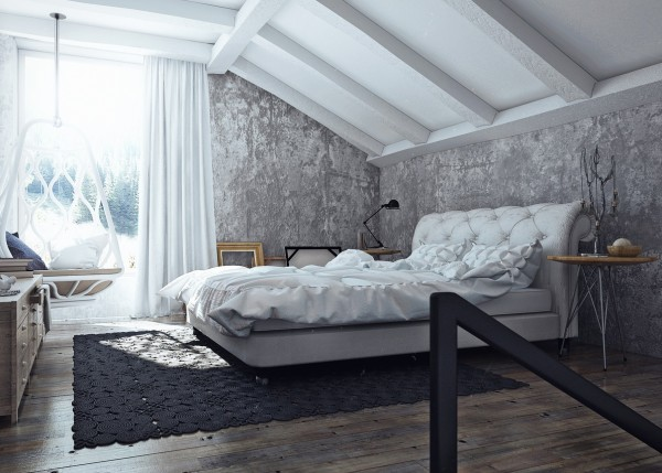 Apartamento femenino - dormitorio