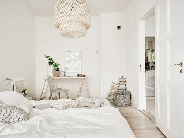 Encanto Bohemio - Dormitorio con escritorio