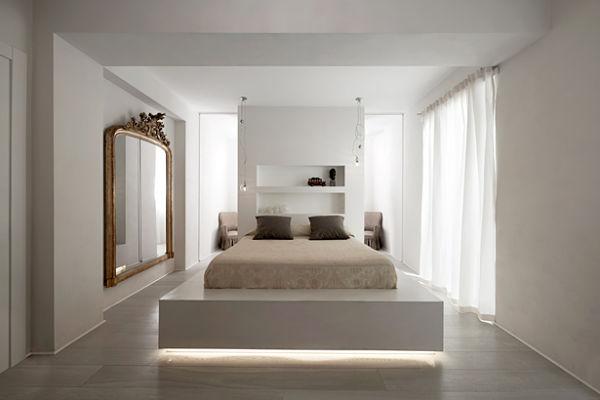 Antes y Despues - dormitorio