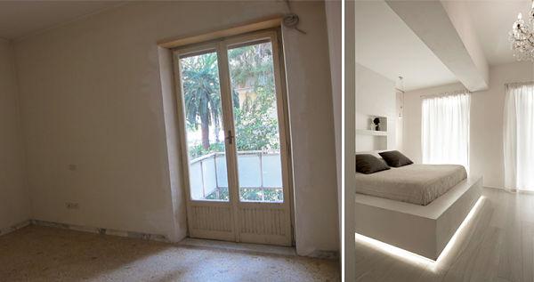 Antes y Despues - dormitorio3 antes
