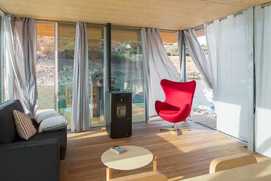 Casa Flotante Interior - zona de estar