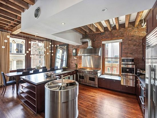 Loft industrial - cocina