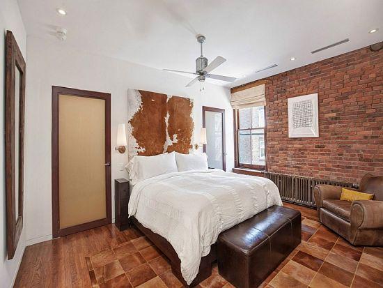 Loft industrial - dormitorio