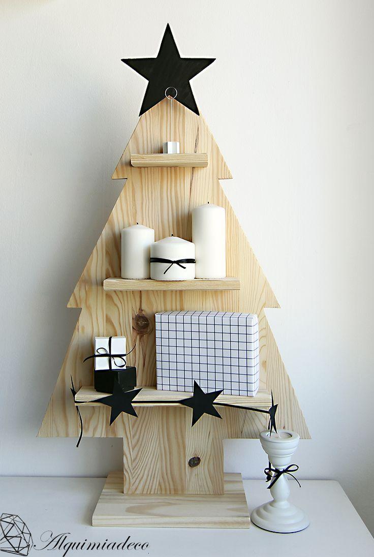 Rbol de navidad alternativo - Arboles de navidad de madera ...