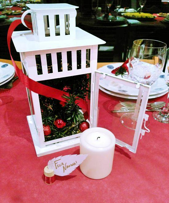 Centro de mesa Navidad - candil