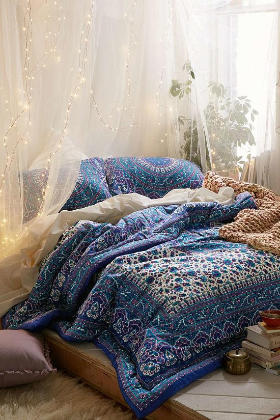 Dormitorio bohemio 01