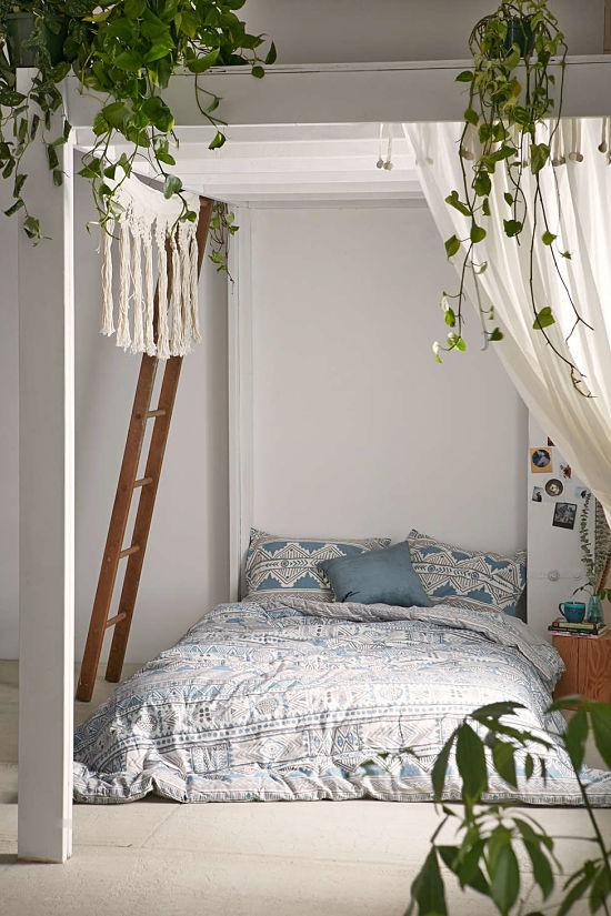 Dormitorio bohemio 11