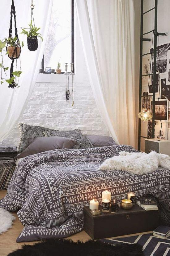 Dormitorio bohemio 15