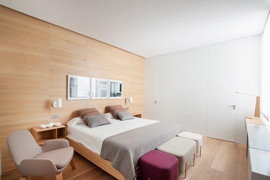 madrid luminoso y colorido - dormitorio