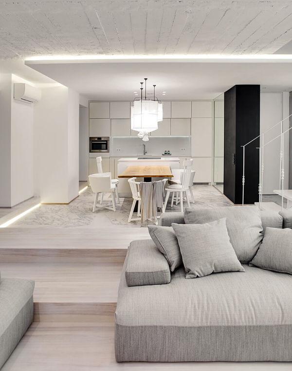 casa moderna architettura moderna : Casa moderna y acogedora 03 - cocina