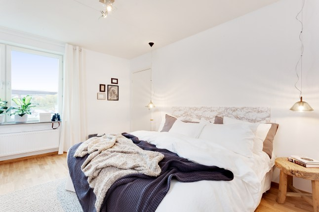 Mezcla de estilos elegante 07 dormitorio