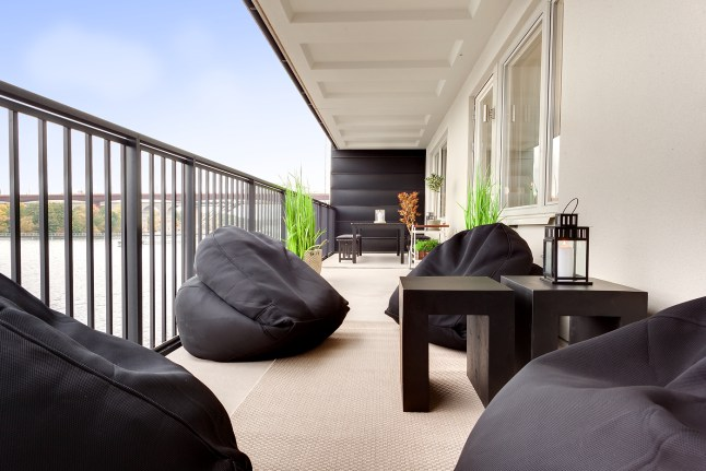 Mezcla de estilos elegante 11 terraza
