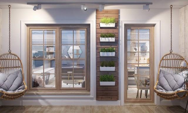 casa o apartamento 10 - terraza con columpios