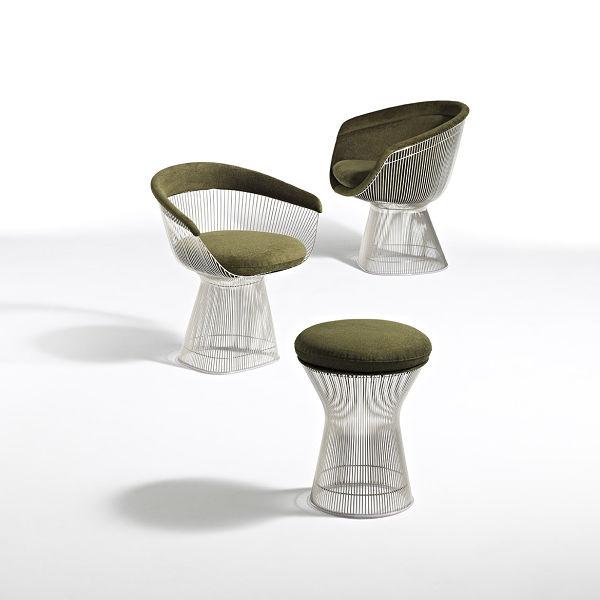 Platner 05 - stool