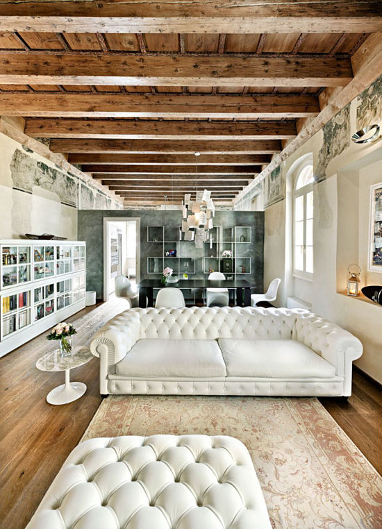 Tradicional y moderno 01 - salon chester blanco