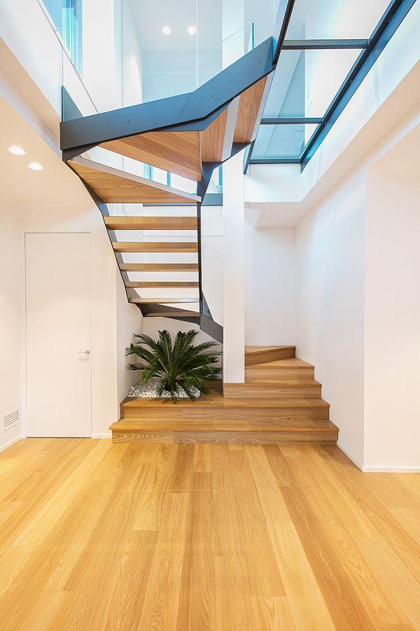 Elegante moderno vintage 02 - escalera
