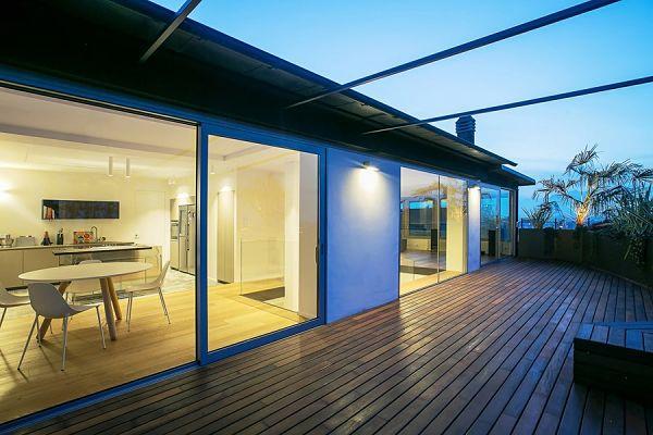 Elegante moderno vintage 08 - terraza