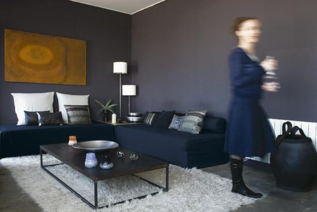 Particular miniloft 01 - salon negro