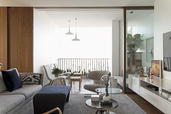 elegancia retro contemporanea 12 - terraza