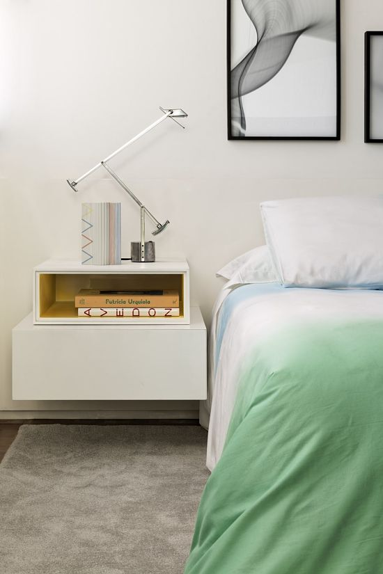 elegancia retro contemporanea 14 - dormitorio